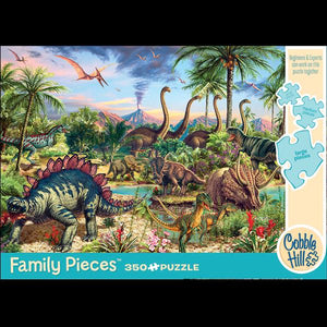 Prehistoric Party Puzzle (350pc)