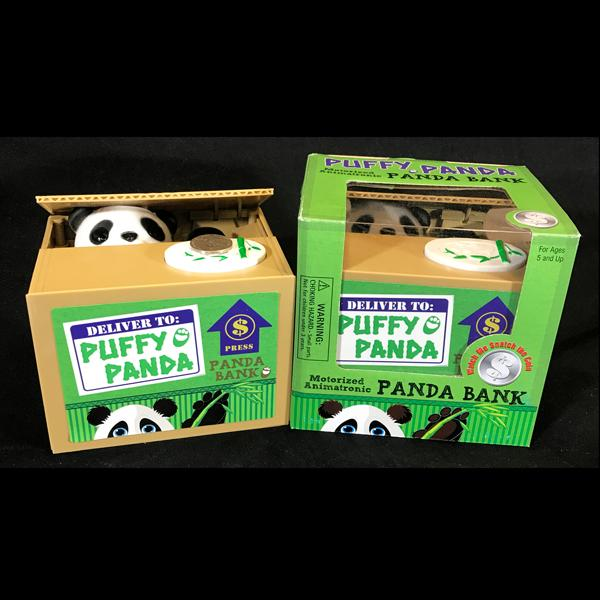 Puffy Panda Coin Bank