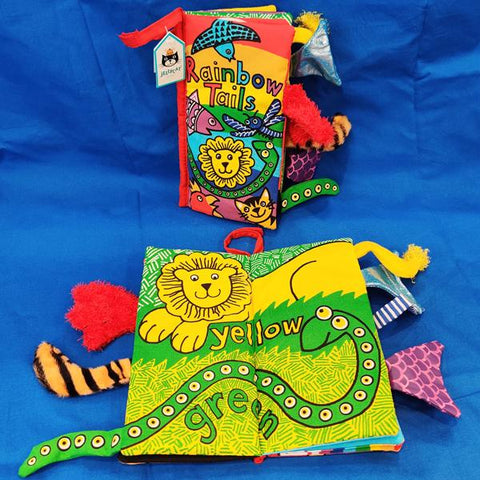 Rainbow Tails Cloth Book (0+)