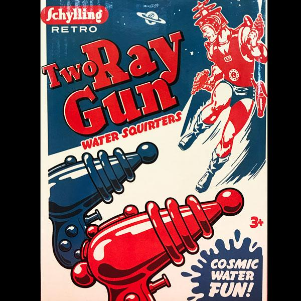 Ray Gun Water Squirters (2-pack)