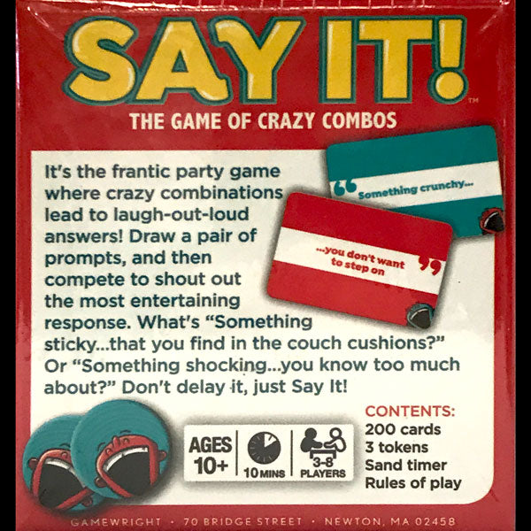 Say It! Game