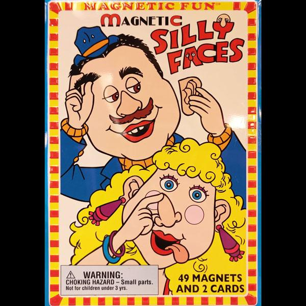 Silly Faces Magnetic Playset