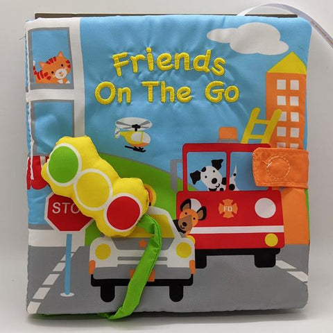"Sound Cloth Book ""Friends On The Go"" (0+)"