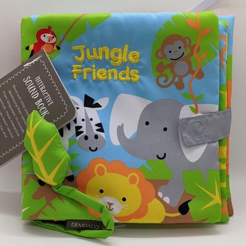 "Sound Cloth Book ""Jungle Friends"" (0+)"
