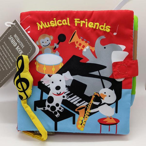 "Sound Cloth Book ""Musical Friends"" (0+)"