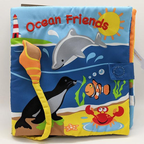 "Sound Cloth Book ""Ocean Friends"" (0+)"
