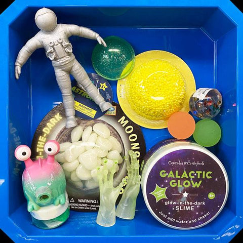 Spaced Out Sensory Bin