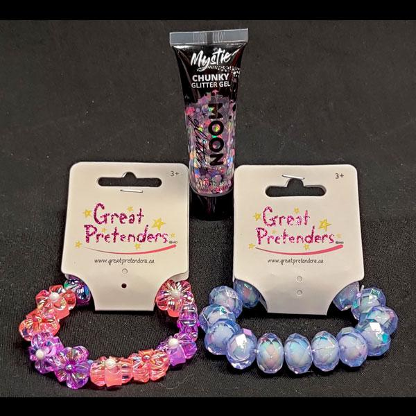 Super Shiny Bracelet & Glitter Set