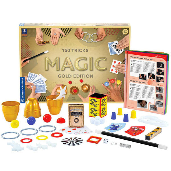 Thames & Kosmos Gold Edition Magic Kit