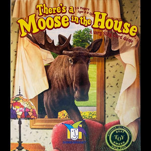 There's a Moose in the House: A Very Silly Card Game