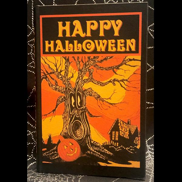 Vintage Book Box (Spooky Tree)