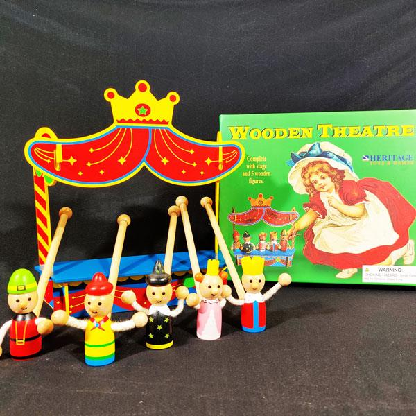 Wooden Puppet Theatre