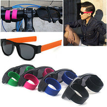 Load image into Gallery viewer, SlappySunglasses™ Polarized Wristband Sunglasses