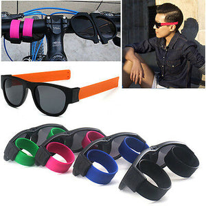 SlappySunglasses™ Polarized Wristband Sunglasses