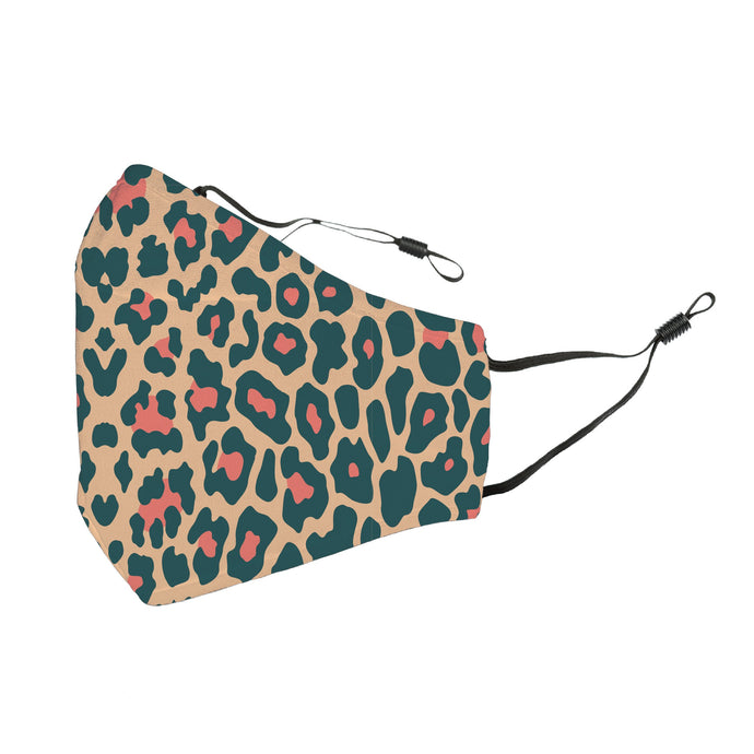 Reusable Face Cover Cheetah Brown