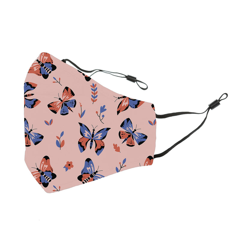 Reusable Face Cover Flutter Pink
