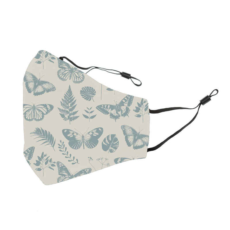 Reusable Face Cover Botanical Ivory