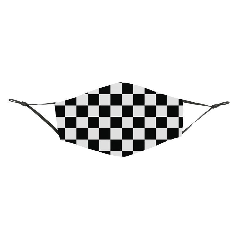 Reusable Face Cover Checkered