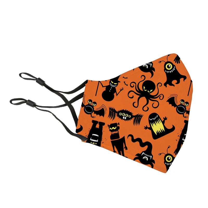 Reusable Face Cover Monster Mash