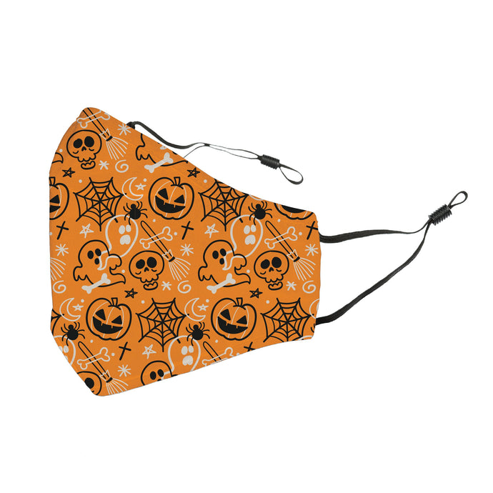 Reusable Face Cover Boo Crew