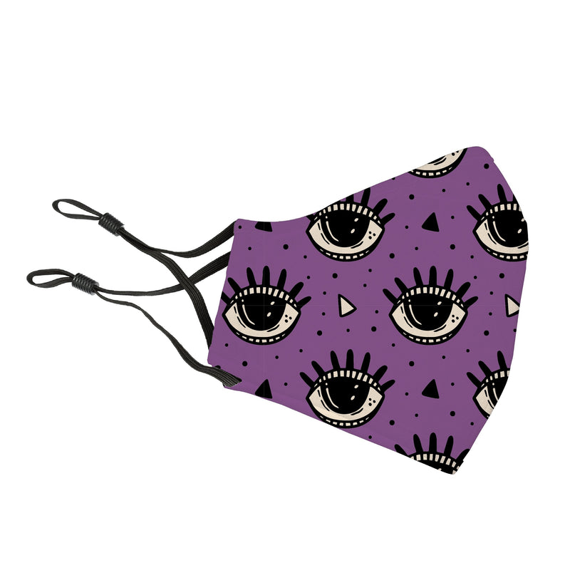 "Reusable Face Cover ""Eye"" Put a Spell on You"