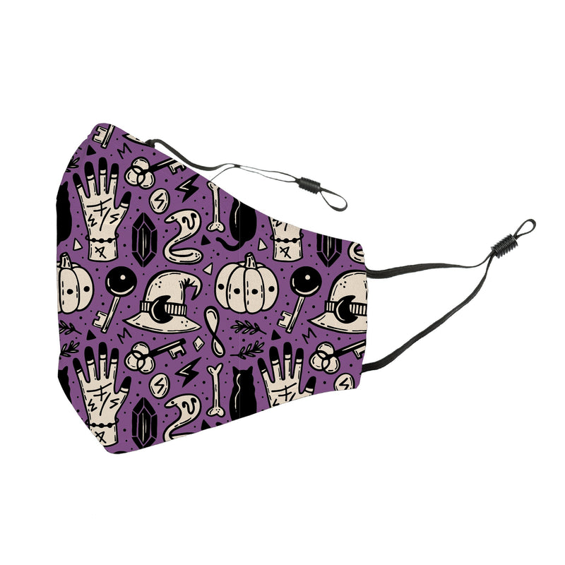 Reusable Face Cover Perfectly Wicked Purple