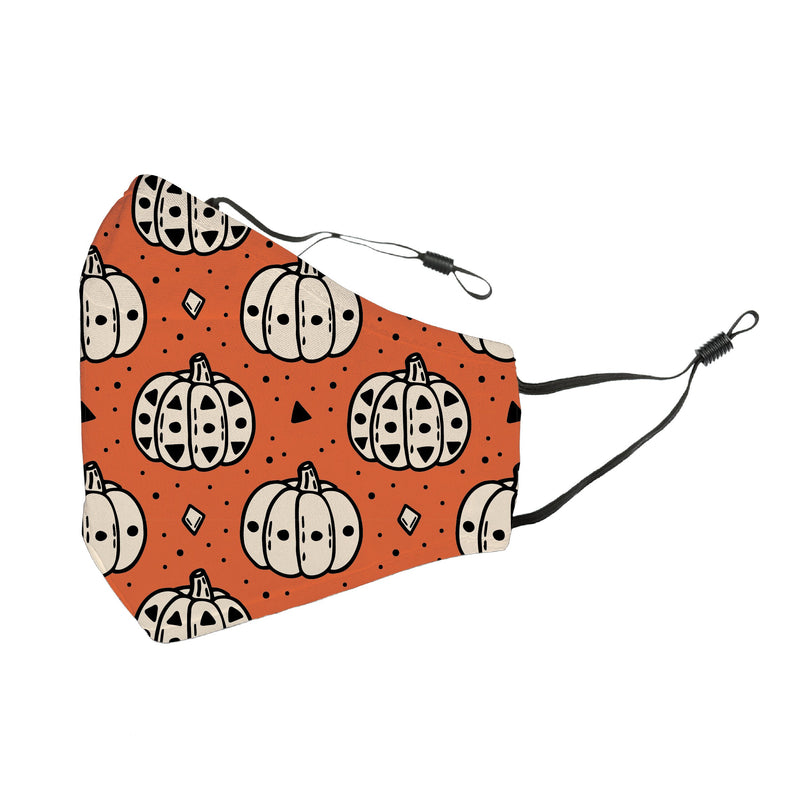 Reusable Face Cover Pumpkin Spice and Everything Nice
