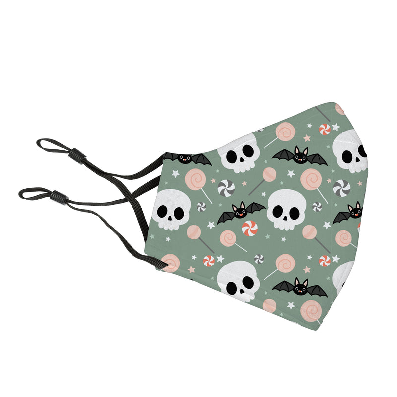Reusable Face Cover Frightfully Batty