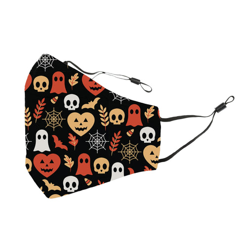 Reusable Face Cover Candy Corn