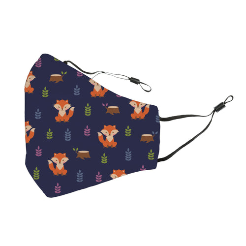 Reusable Face Cover What does the Fox say?