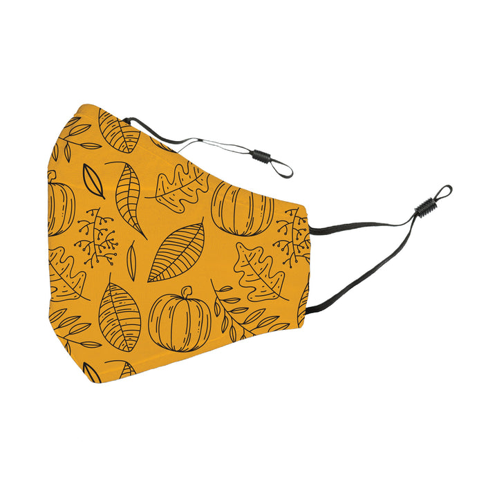 Reusable Face Cover As the Leaves Turn
