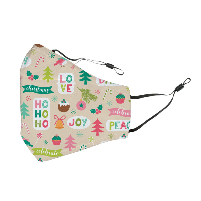 Reusable Face Cover Deck the Halls!