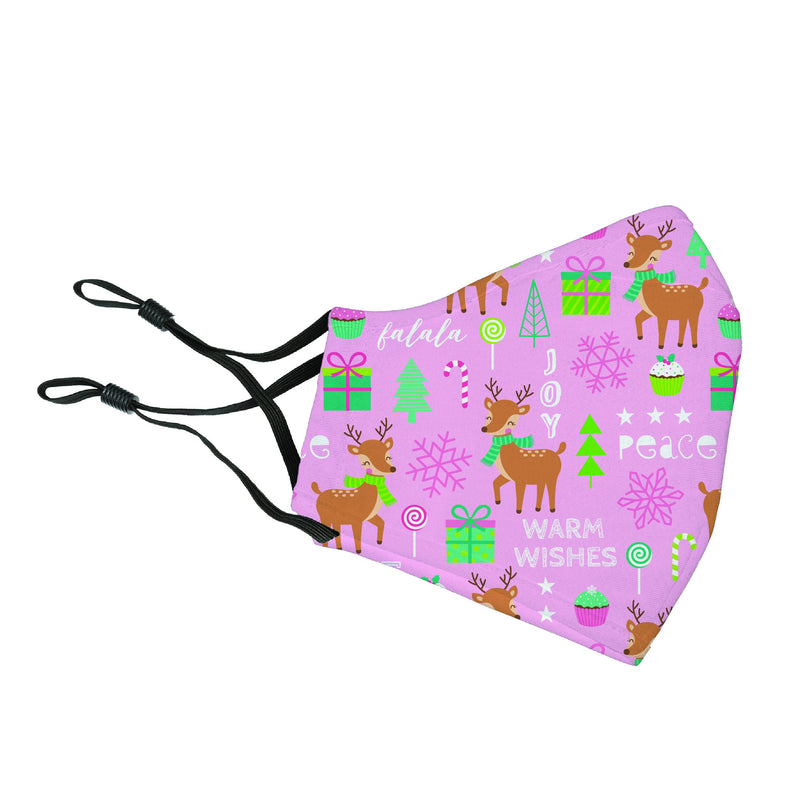 Reusable Face Cover Reindeer Games