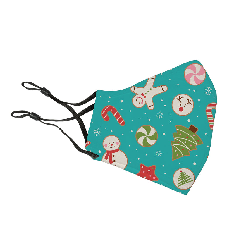 Reusable Face Cover Decorating Cookies Teal (11/1 Expected Shipping Date)