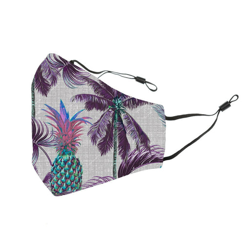 Reusable Face Cover Chromatic Pineapple