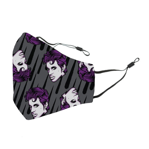 Reusable Face Cover Purple Rain