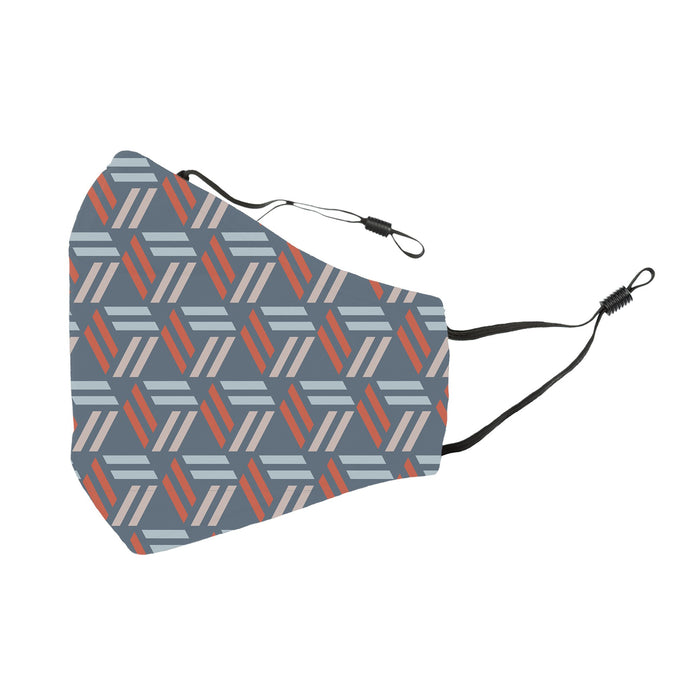 Reusable Face Cover Geometric Triangles