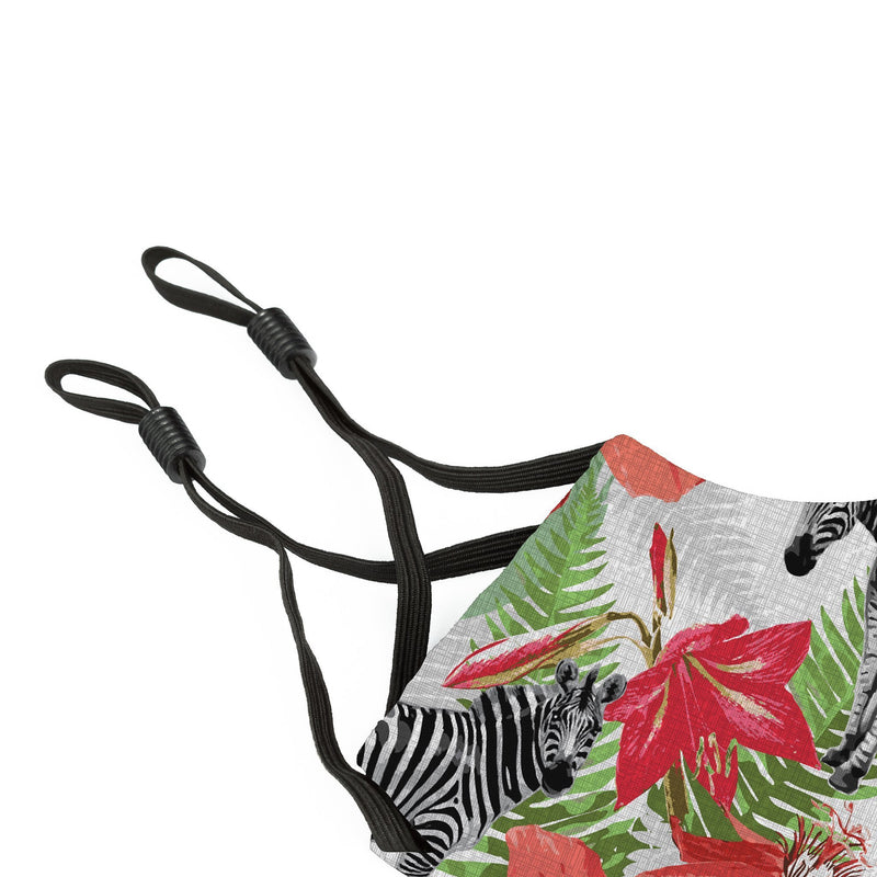 Reusable Face Cover Wild Zebra