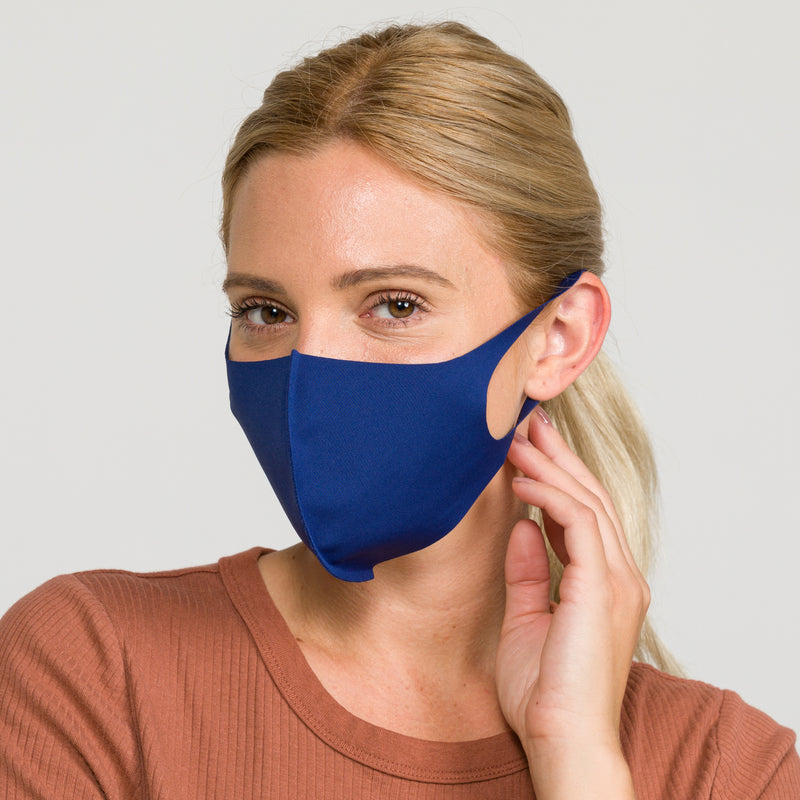 Fashion Face Cover Navy