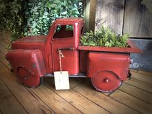 Load image into Gallery viewer, Red Truck Garden Planter