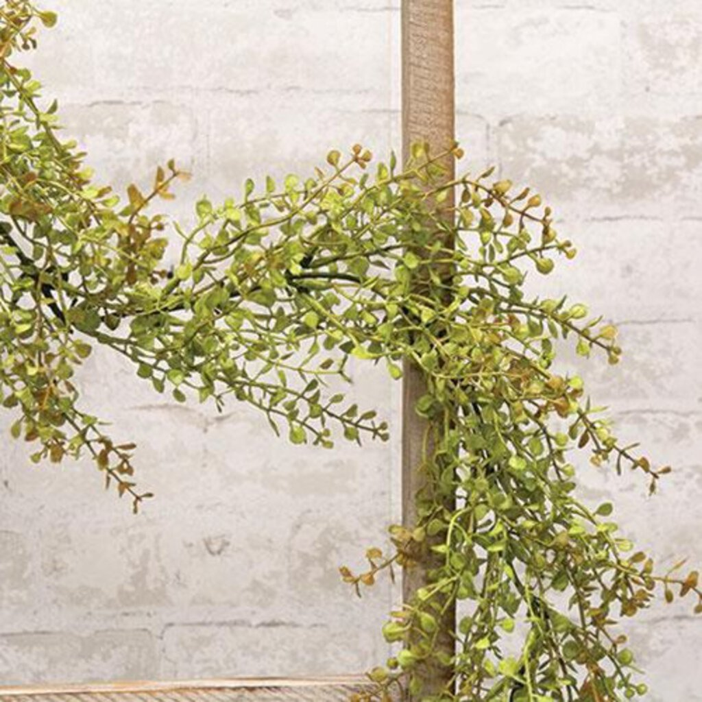 Baby's Grass Garland 6ft  - Light Green