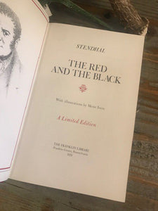 THE RED AND THE BLACK - Stendhal - Franklin Library Limited Edition - 1979