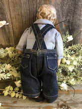 Load image into Gallery viewer, Vintage Buddy Lee Doll w/Lee Advertising Overalls