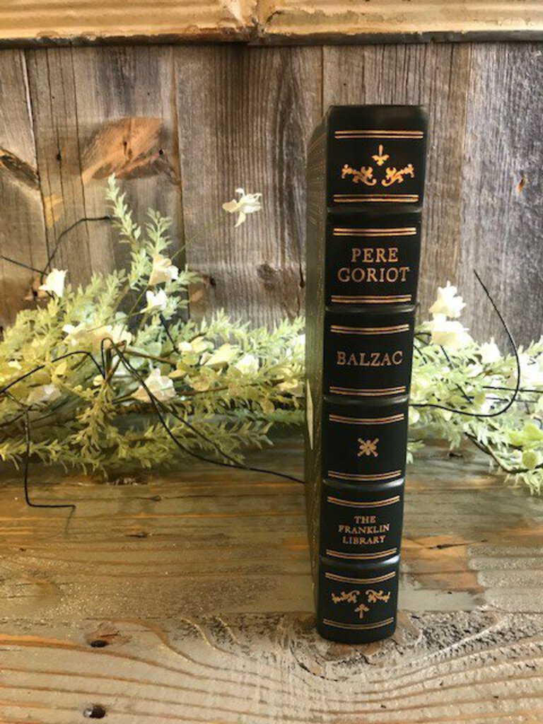PERE GORIOT - Honore de Balzac Franklin Library Limited Edition 1977