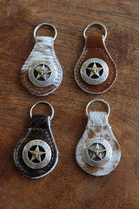 Gaucho Key Fob w/ Star