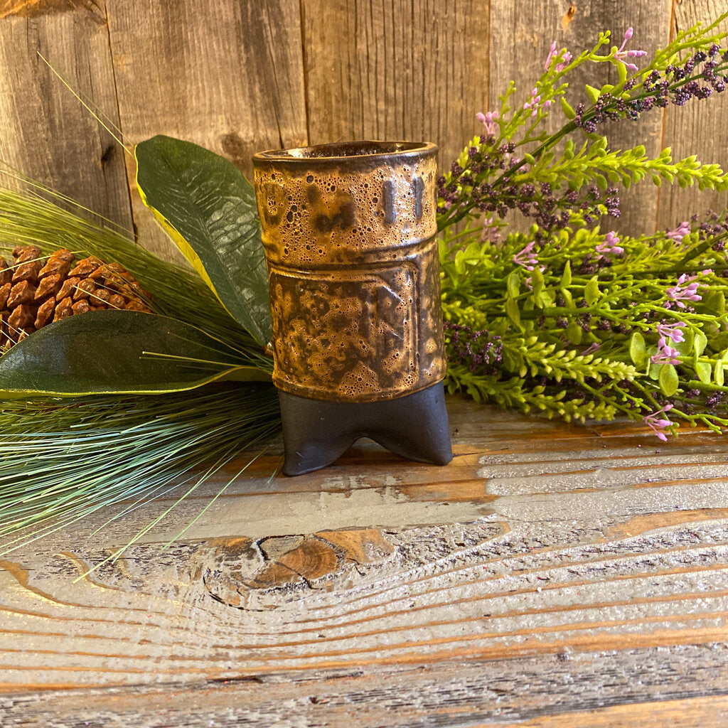 Handcrafted Wyoming High Fire Cassius Clay Tumbler
