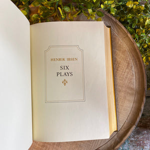 SIX PLAYS - Henrik Ibsen Franklin Library Limited Edition 1977
