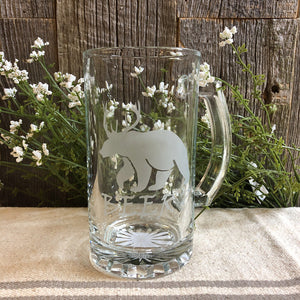 16 oz. Clear Beer Mug, Beer?