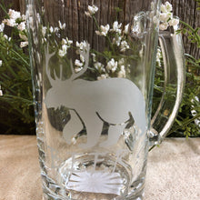 Load image into Gallery viewer, 16 oz. Clear Beer Mug, Beer?
