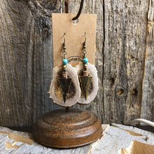 Load image into Gallery viewer, Mule Deer Earring W Brass Arrowhead